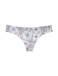 Rene Rofe Floral Panties Thong
