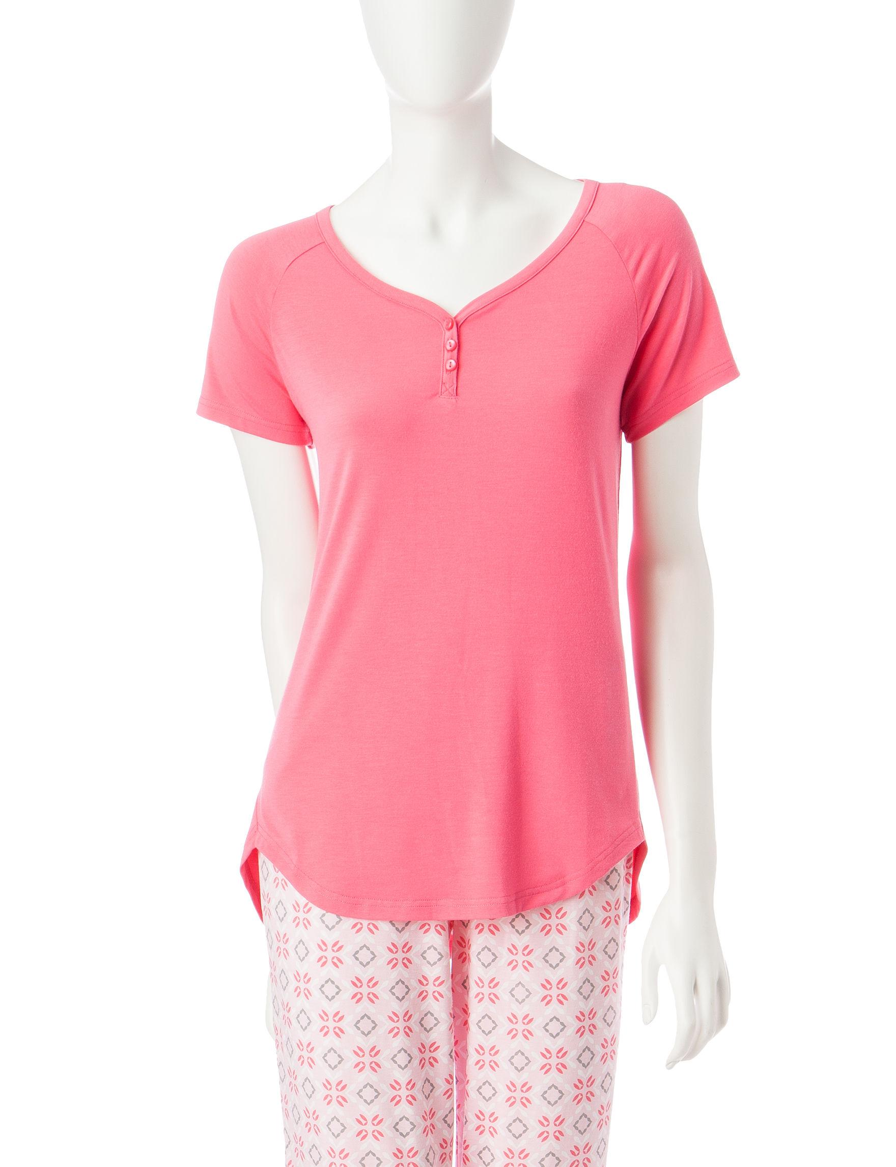 Cool Girl Red Pajama Tops