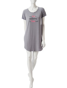Cool Girl Grey Pajama Tops