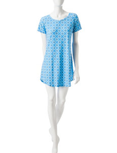 Cool Girl Blue Pajama Tops