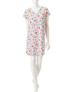 White Orchid Pink Nightgowns & Sleep Shirts