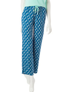 Laura Ashley Blue Soft Pants