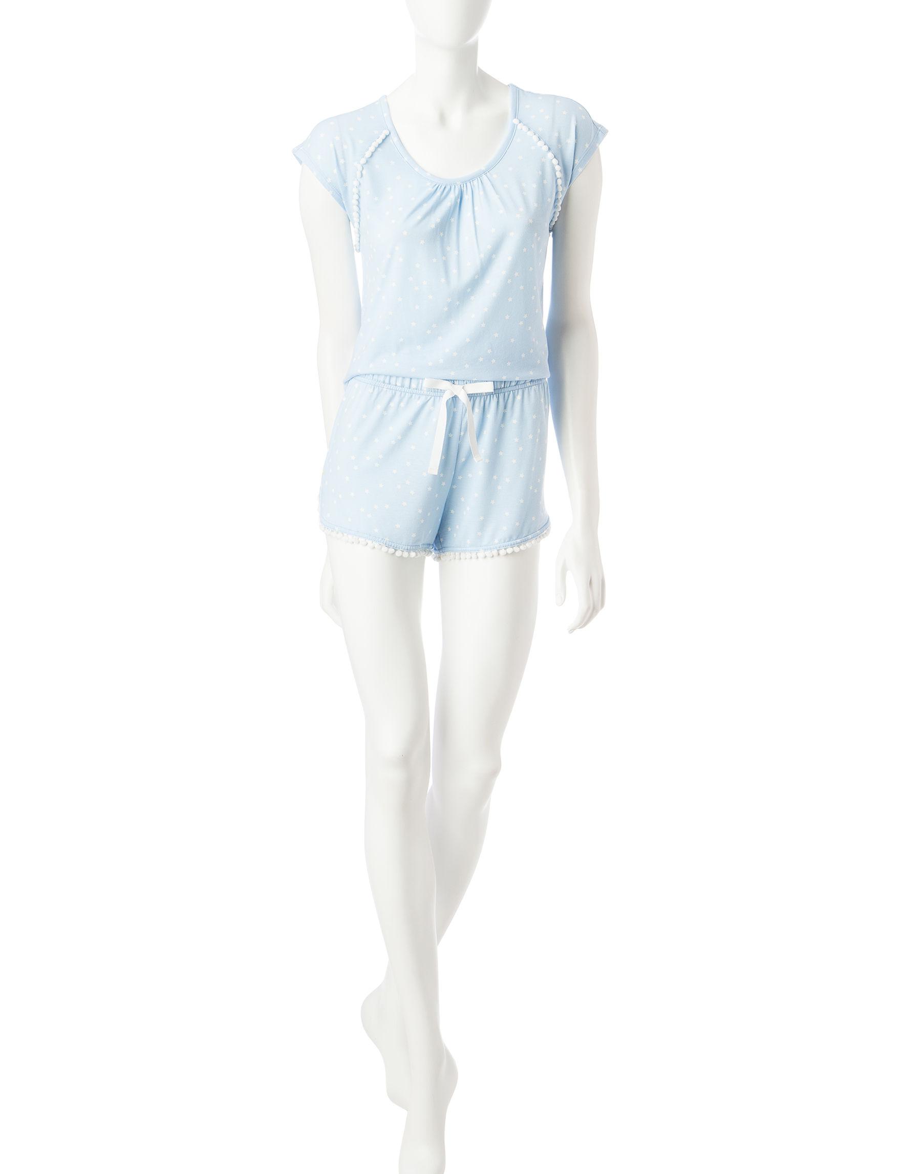PJ Couture Blue Pajama Sets