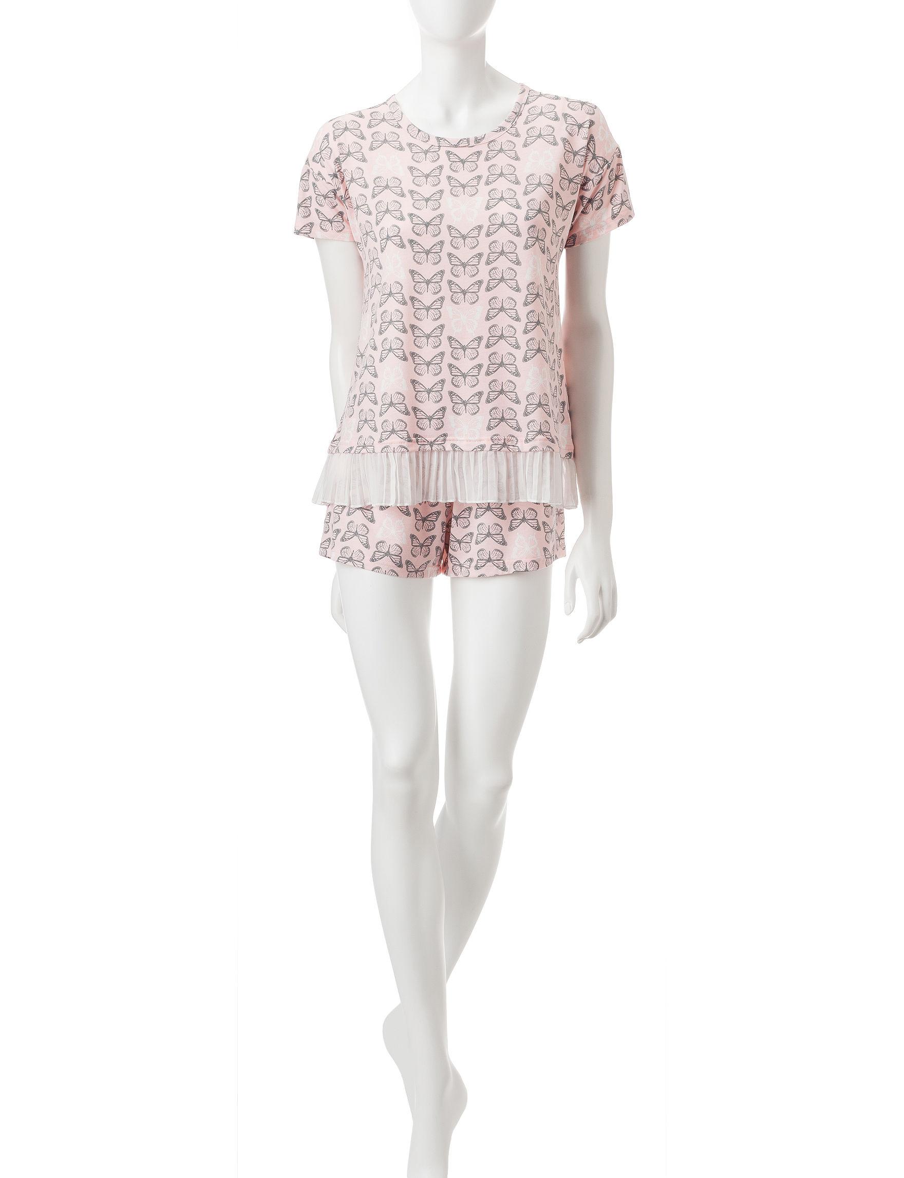 PJ Couture Pink Pajama Sets