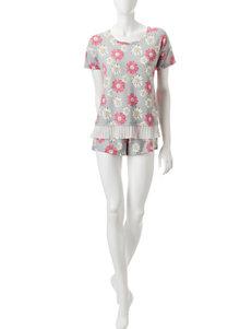 PJ Couture Grey Pajama Sets