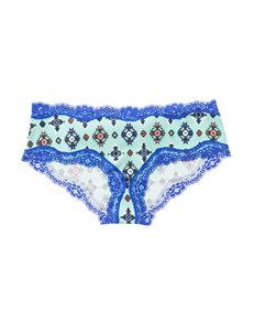 B Intimates Blue Panties Hipster