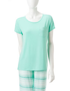 Cool Girl Green Pajama Tops