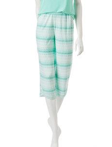 Cool Girl Green Pajama Bottoms