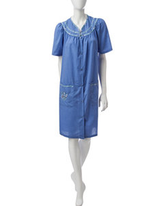 Jasmine Rose Chambray Robes, Wraps & Dusters