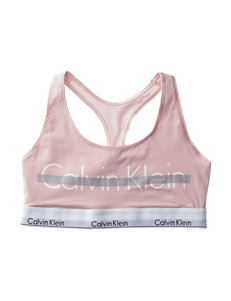 Calvin Klein Pink Bras Bralette Sports Bra
