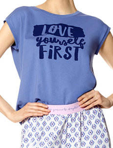 Hue Plus-size Love Yourself Pajama Top