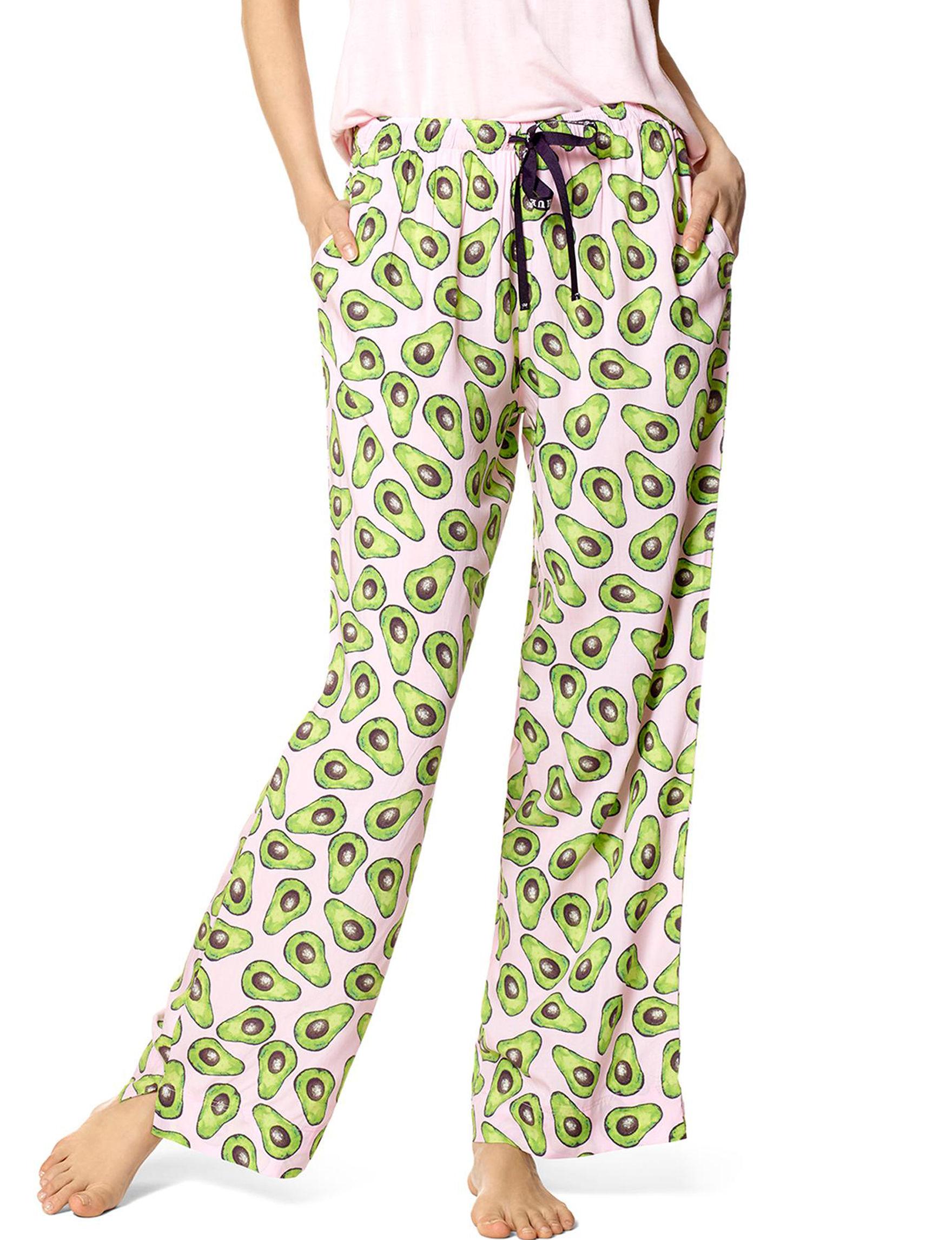 Hue Pink Pajama Bottoms