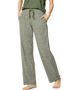 Hue Green Pajama Bottoms
