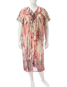 Loungees Plus-size Gauze House Dress