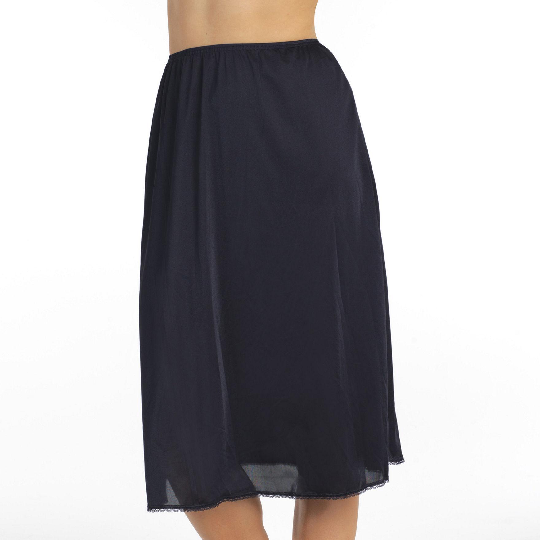 Vanity Fair Black Slips & Shapewear