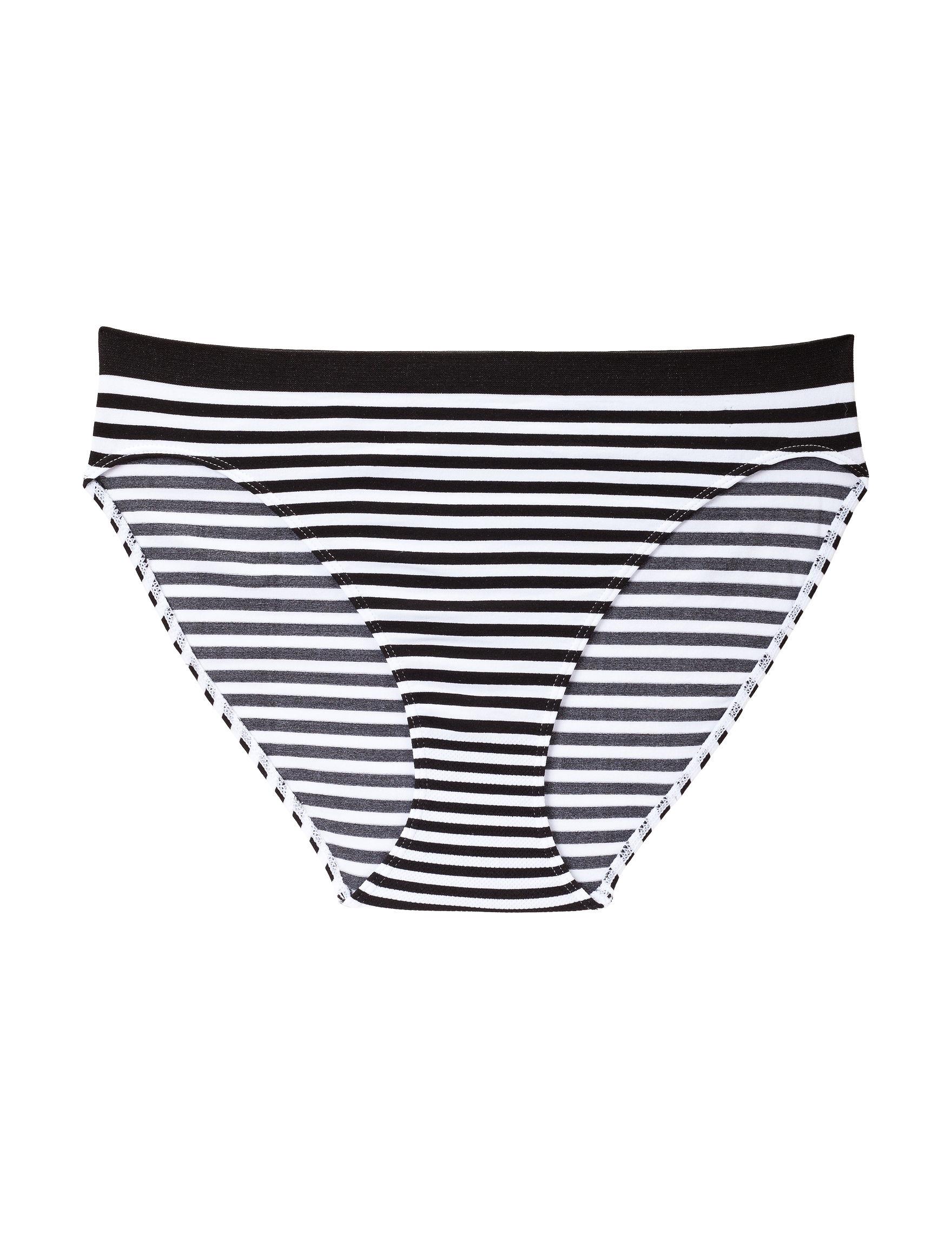 Rene Rofe Black / White Panties