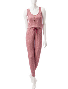 PJ Couture Red Pajama Sets