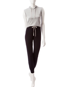 PJ Couture Heather Grey Pajama Sets