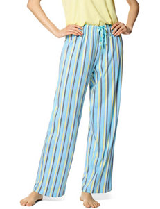 Hue Astro Striped Print Pajama Pants
