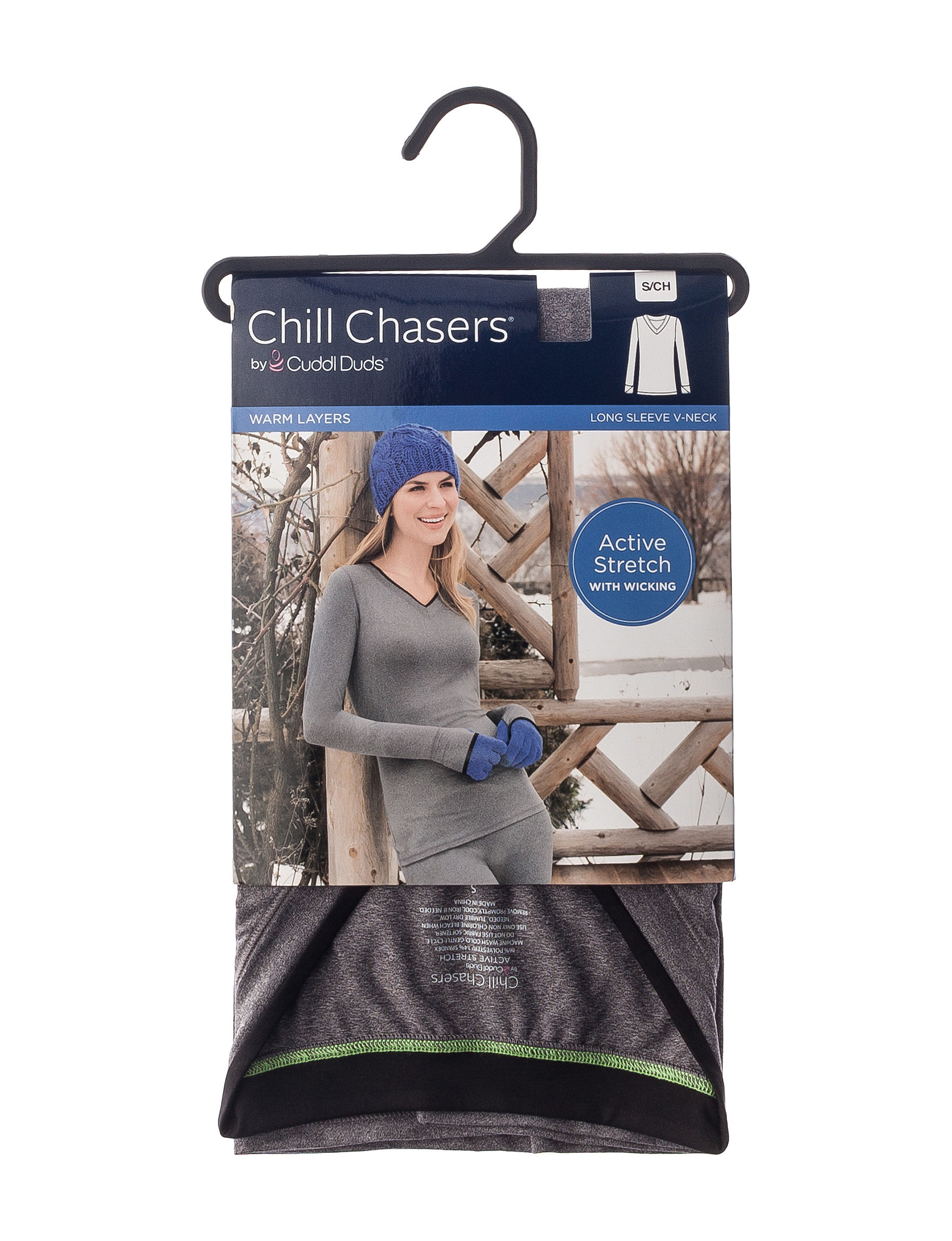 Chill Chasers Grey Long Underwear