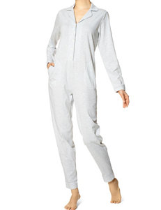 Hue Deck Stripe Adult Onesie Pajamas