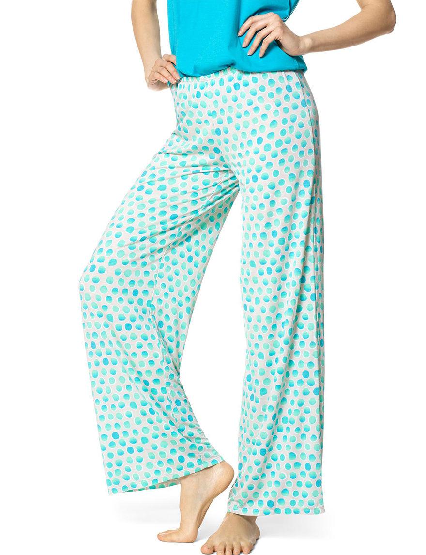 Hue SIlver Pajama Bottoms