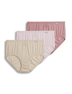 Jockey 3-pk. Super Soft Solid Color Brief Panties