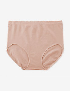 Ellen Tracy Nude Panties Briefs Seamless