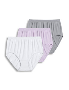 Jockey Grey Multi Panties Briefs