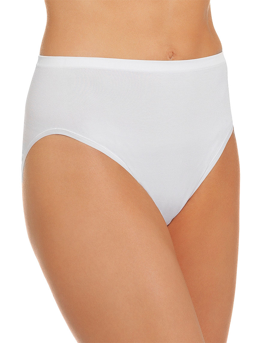 Vanity Fair White Panties