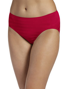 Jockey Red Panties Bikini High Cut