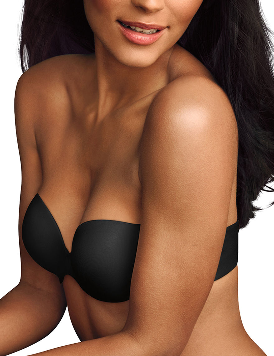 Maidenform Black Bras Bandeau