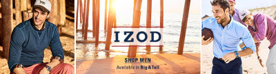 Izod Mens Clothing
