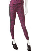 Steve Madden Static Print Performance Leggings
