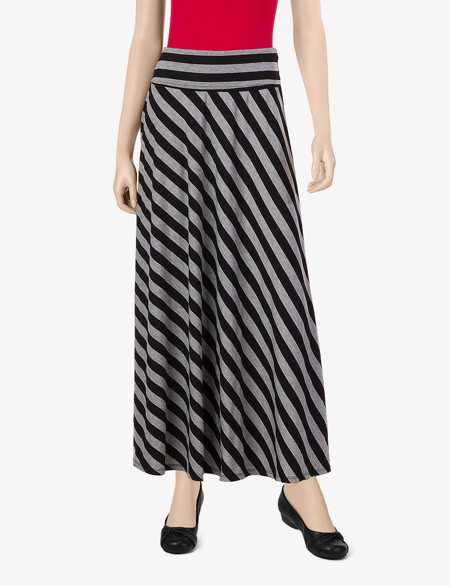 joe benbasset striped maxi skirt juniors skirts