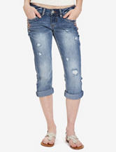 Unionbay® Amanda Studded Denim Capris – Juniors