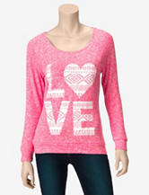 Miss Chievous LOVE Sweater – Juniors