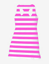 Soffe Pink Striped Performance Tank Top – Juniors