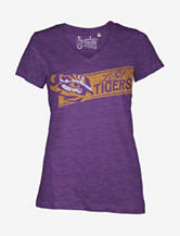 LSU Tigers Stripe Slub T-shirt – Juniors