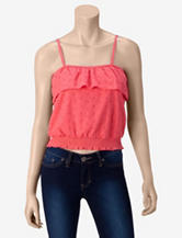 Almost Famous White Eyelet Tube Top – Juniors