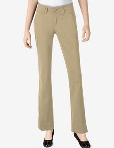 Dickies® Solid Color Stretch Wide Band Pants – Juniors