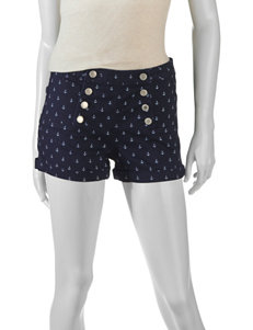 Almost Famous Dark Blue - Rinse Tailored Shorts