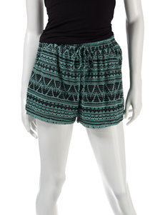 BeBop Black / Green Soft Shorts