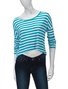 WallFlower Turquoise Shirts & Blouses