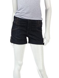 Boom Boom Dark Blue - Rinse Denim Shorts