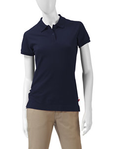 Dickies Solid Color Uniform Polo Top