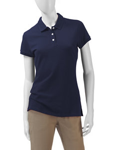 U.S Polo Assn. Solid Color Uniform Polo Top