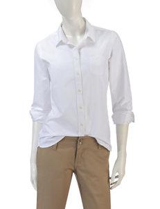 U.S Polo Assn. Solid Color Uniform Oxford Top