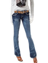 Amethyst Zoey Medium Stone Wash Flared Jeans