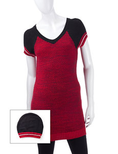 Made for Me to Look Amazing Black / Red / White Tunics